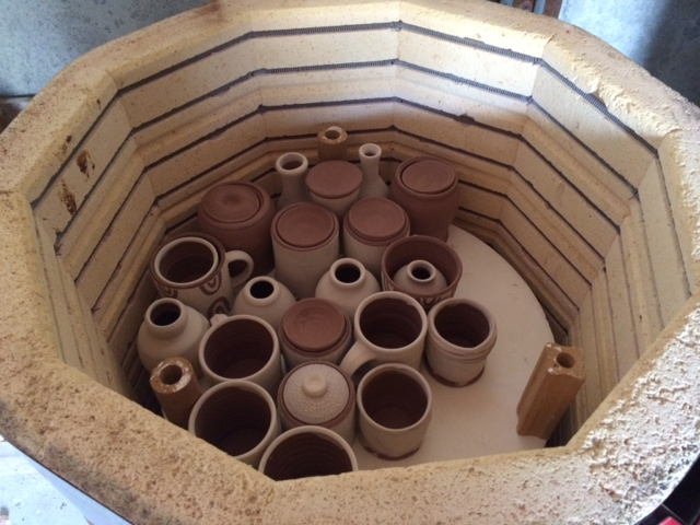 bisque kiln loaded with Traci Noone.jpg