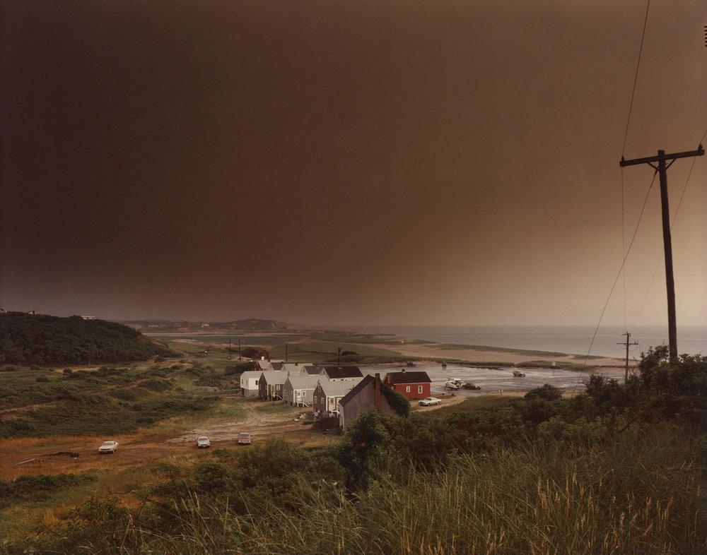 Storm Over Corn Hill Beach, Truro, Cape Cod 1976
