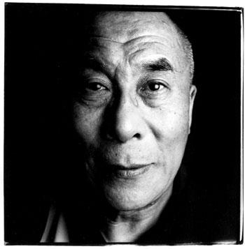 His Holiness the 14th Dalai Lama (Steve Pyke)