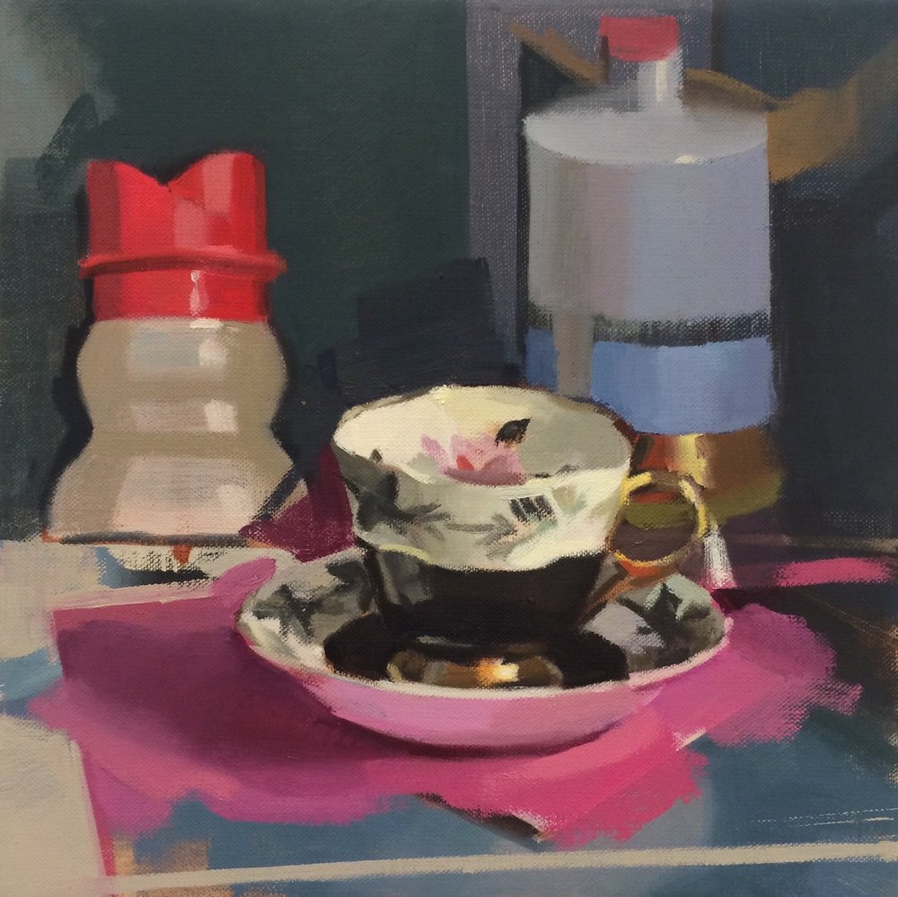 Kitty's Teacup,  Amy Mahnick
