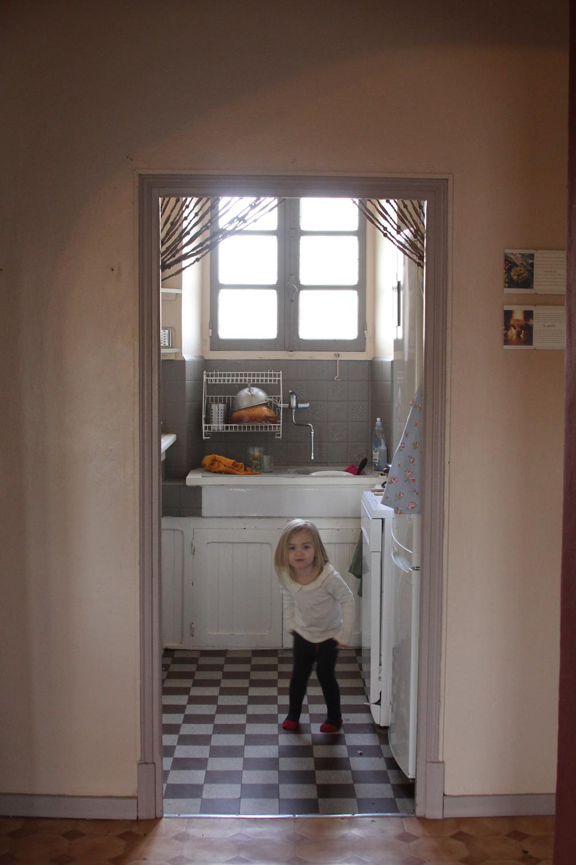 masie in kitchen