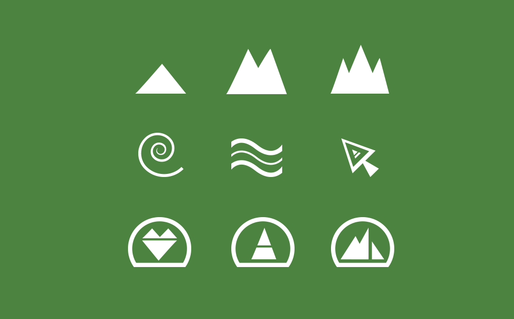 Unified icon set