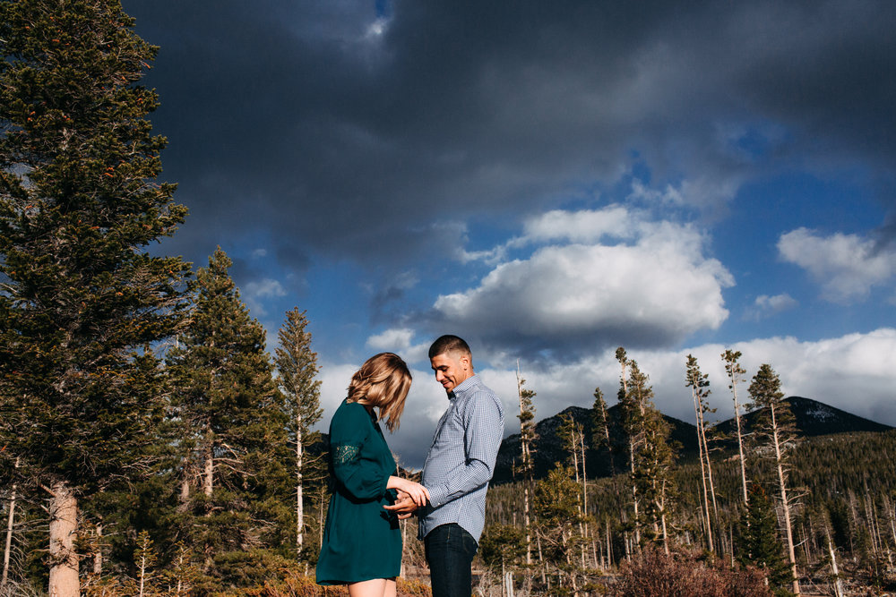 KATE + JARED | ELOPEMENT IN ROCKY MOUNTAIN NATIONAL PARK