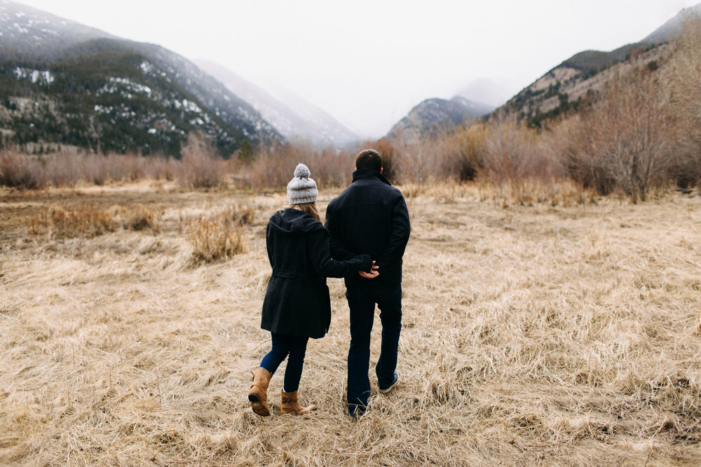 KATIE + ANDY | ROCKY MOUNTAIN NATIONAL PARK ENGAGEMENT