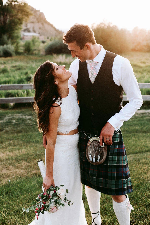 COURTNEY + JAMIE | MODERN SUMMER WEDDING IN VAIL