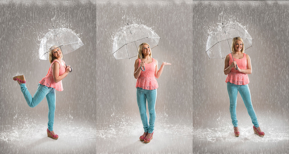 Senior Umbrella Photos in Texas | Tomball High School | www.silverimagephotoseniors.com