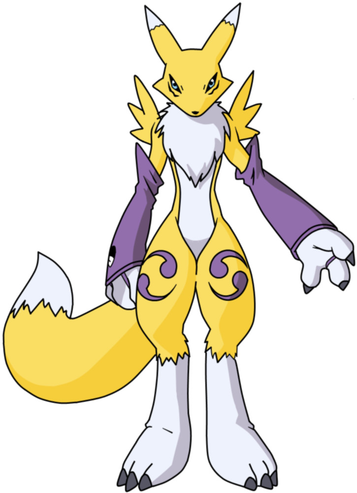 Renamon style by  skajemm-freestyle