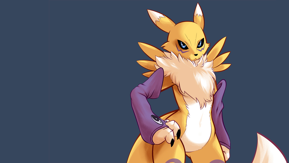 Renamon by  Gannadene