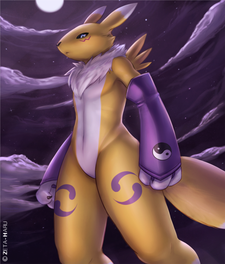 Renamon by  Zeta-Haru