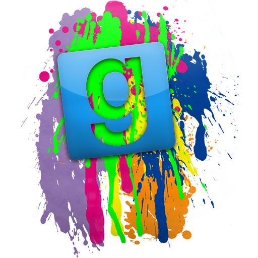 Gmod colorful logo