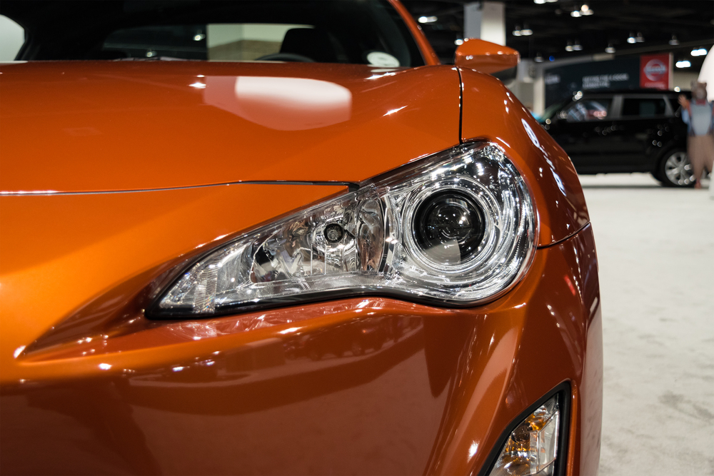 Scion TC Orange