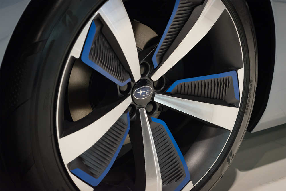 Subaru Prototype Wheel close