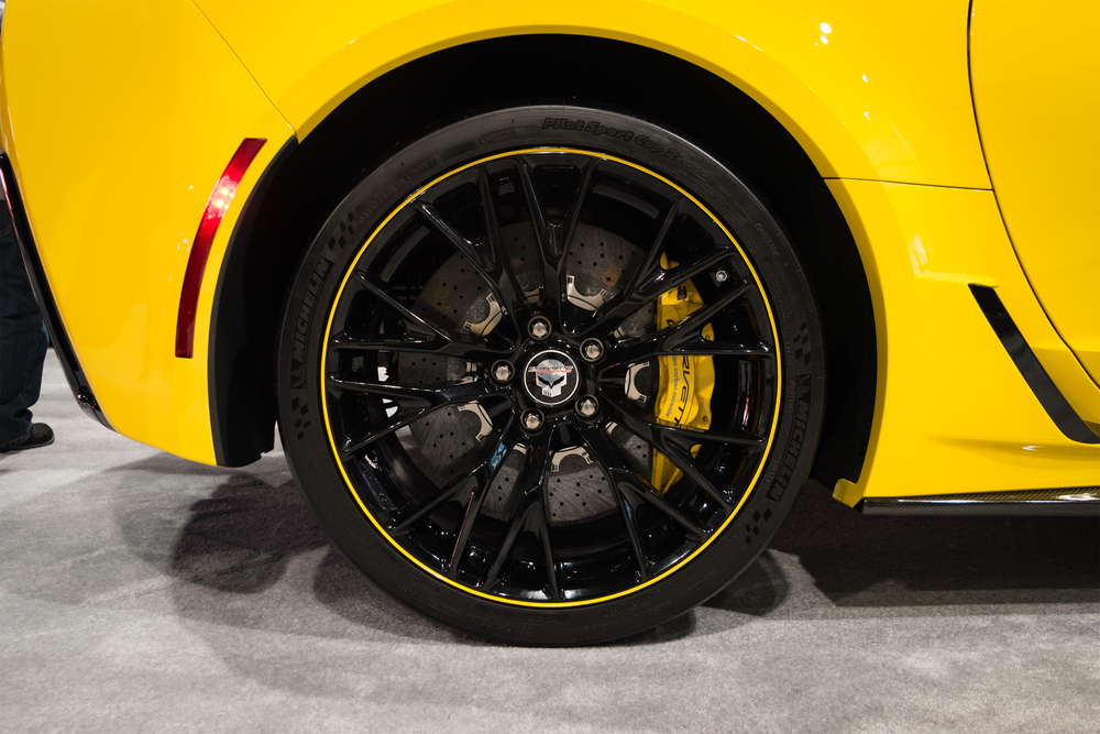 Custom Corvette Wheel
