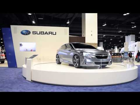 Subaru Impreza Sedan Concept | 1080p 60fps test