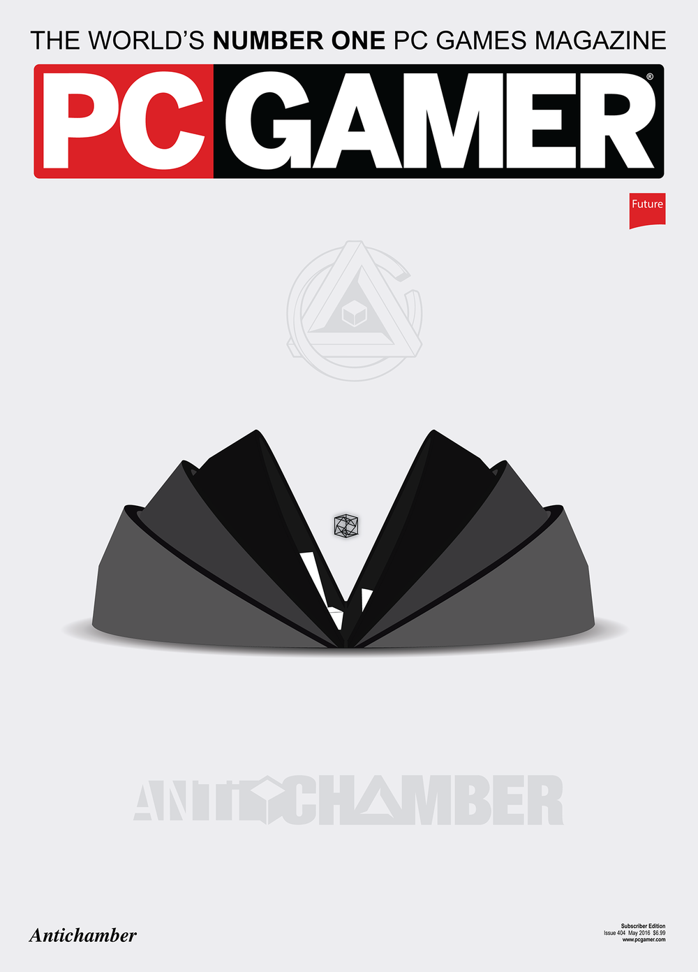 Antichamber Magazine Cover