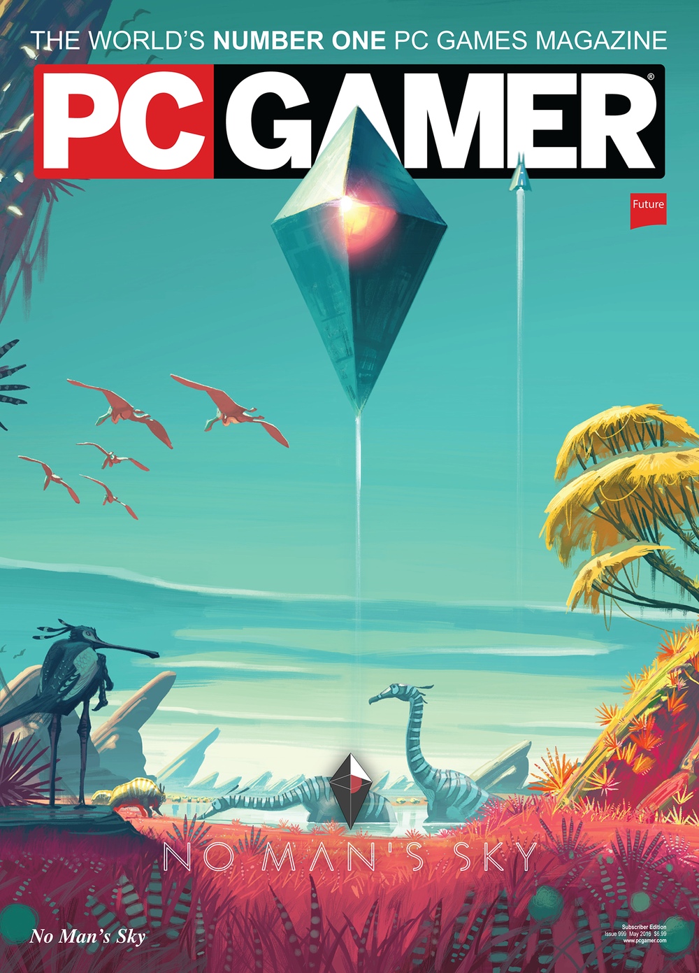 No Man's Sky Magazine Cover