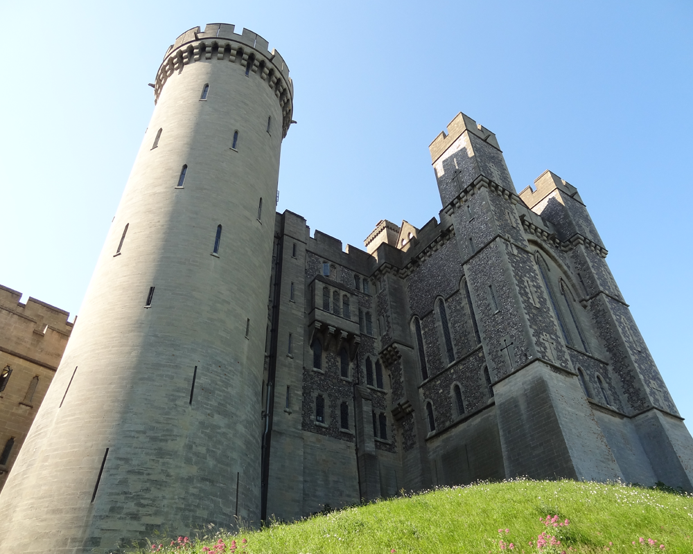 During one of our trips to Zambia, we stopped in London then went south to Arundel Castle. I have always loved castles and this was my first .