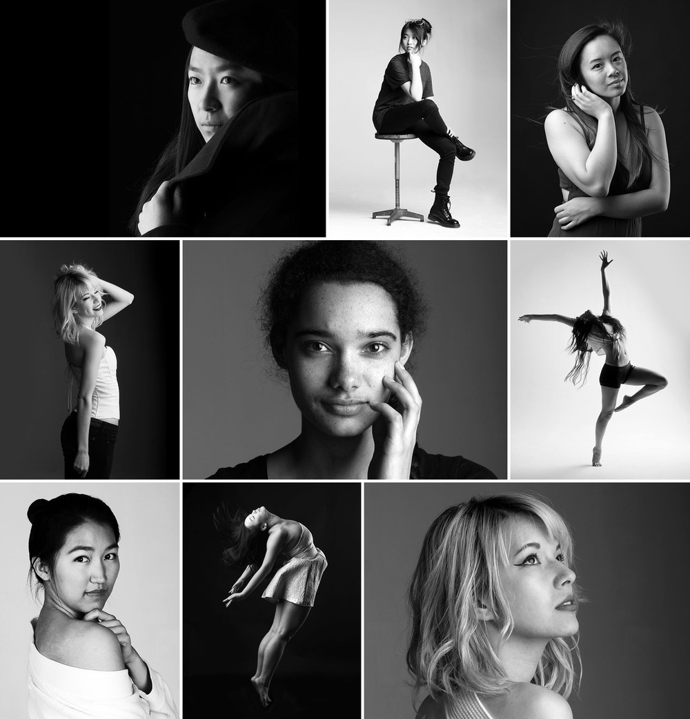 Studio Portraits, 2016.