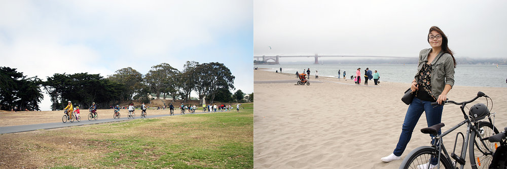 Fort Mason & Crissy Field (best bike ride ever from Pier 39 to Golden Gate Bridge)