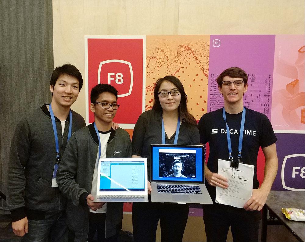 Team DACA Time: Ethan Liao, Timotius Sitorus, Sophia Liu, Brook Kohn