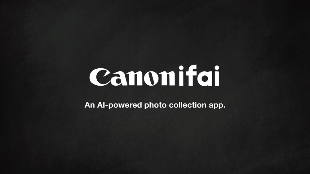 Using AI and machine learning, Canonifai uses Canon's CCAPI and Clarifai's API to tag photos with keywords and organize them into a smart collection.