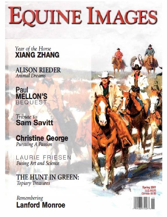 Equine Images (Spring 2001) - Cover