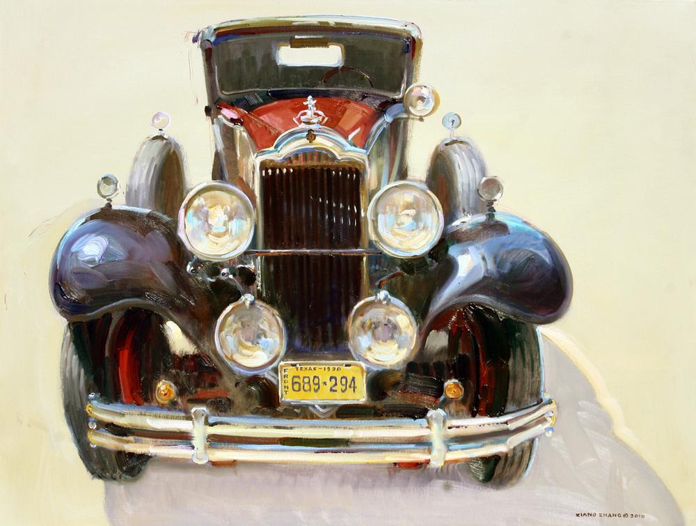 """1930 Packard 32"""" x 40"""" A.C."""