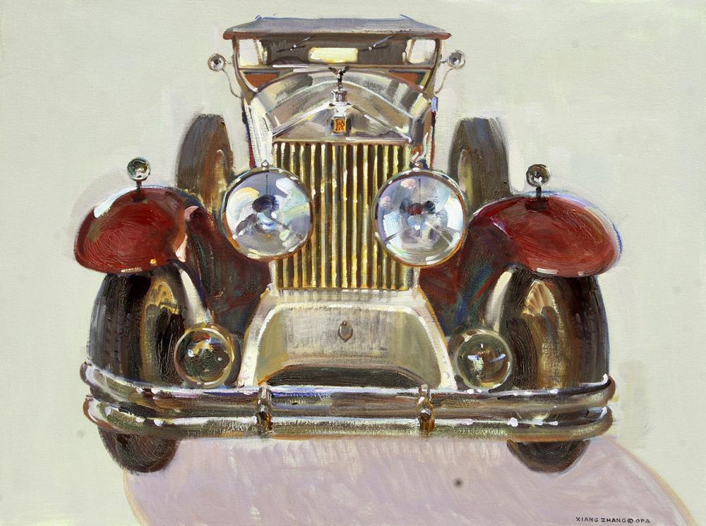 "1928 Rolls Royce 32"" x 40"" A.C."