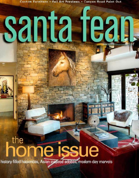 Santa Fean (2014) - cover