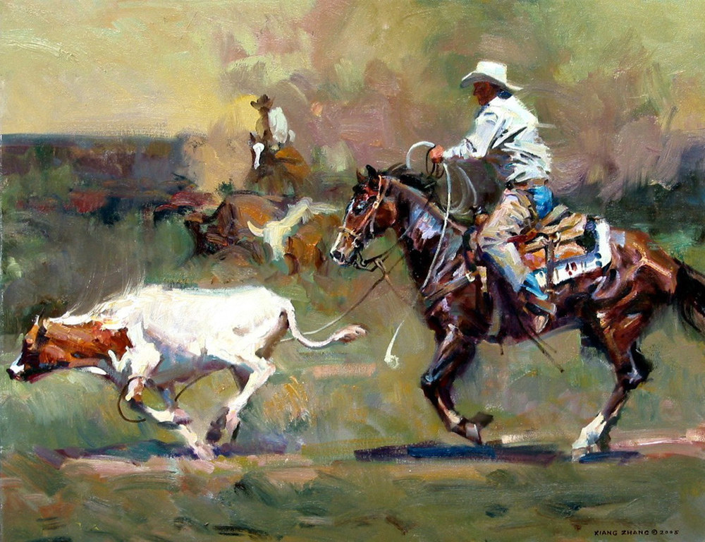 "Ranch Dust 25"" x 32"" A.C."