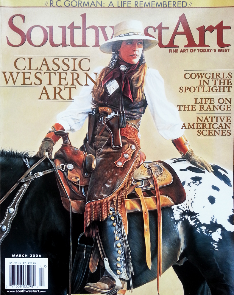 Southwest Art (March 2006) - Cover