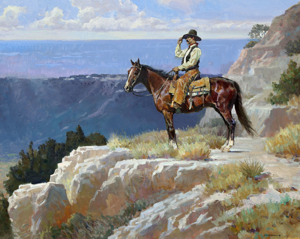"Palo Duro Breeze 32"" x 40"" SOLD"