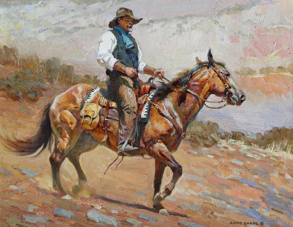 "Mountain Trail  16""x20"""