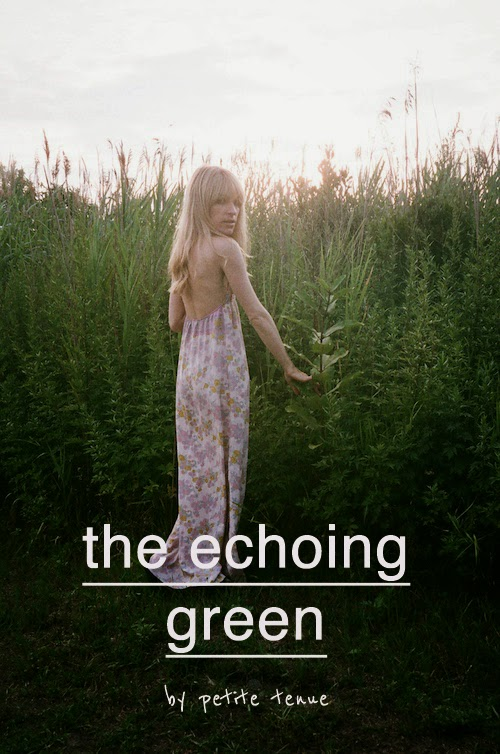 the echoing green, by petite tenue
