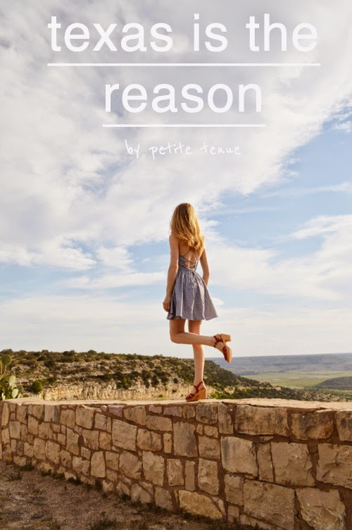 texas is the reason, by petite tenue