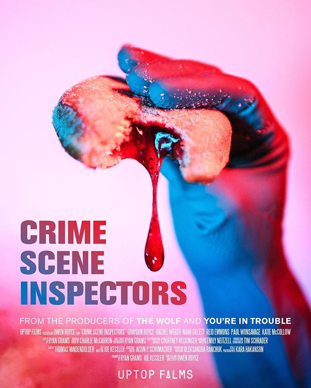 """It's official! """"Crime Scene Inspectors"""" has been nominated for several awards including """"Best Film""""! HUGE shoutout to everyone who helped us make this film a success. Catch the rest of the nominations below in the comments.  Join us next week for the @ZFestFilmFest Best of Fest, Friday, March 23 @ 7pm. at the @RadissonBluMOA @mallofamerica.  It will most likely sell out, so get your tickets soon at z-fest.com/tickets"""