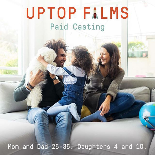 Paid. Short Film Casting Notice. Casting Talent to portray a young family. Non-Speaking Roles. Extended full day shoot in the Twin Cities. Late April/Early May (exact date TBD). Upload your Headshot and Resume here ––  http://uptop.video/FLcasting