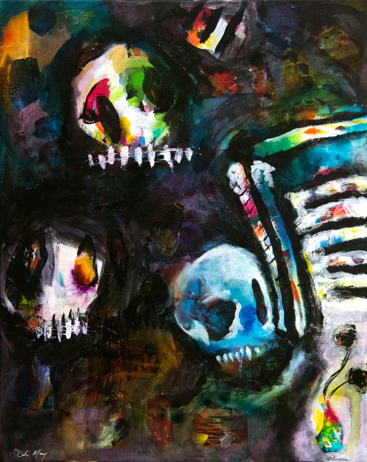Skulls for Flowers