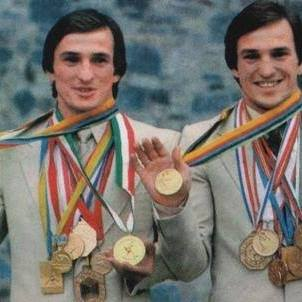 Sergei and Anatoly Beloglazov - 3x Olympic Champions and 9x World Champions