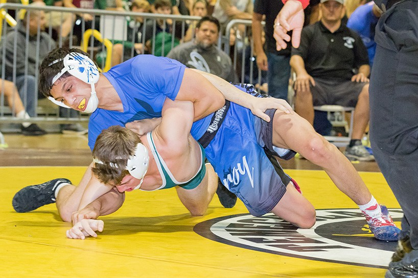 #7 in the Nation according to Flo, Chase Saldate (Gilroy) is headed to Michigan State after graduation