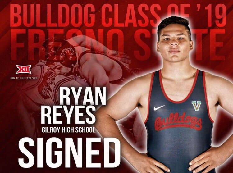 #6 in the Nation and committed to Fresno State is Gilroy's Ryan Reyes