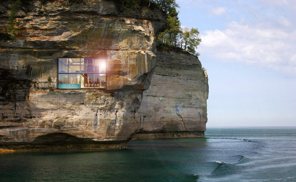 Cliffside Home