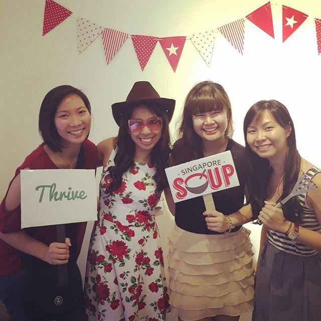 IJ gals @ SOUP!! 😄 #SGSOUP
