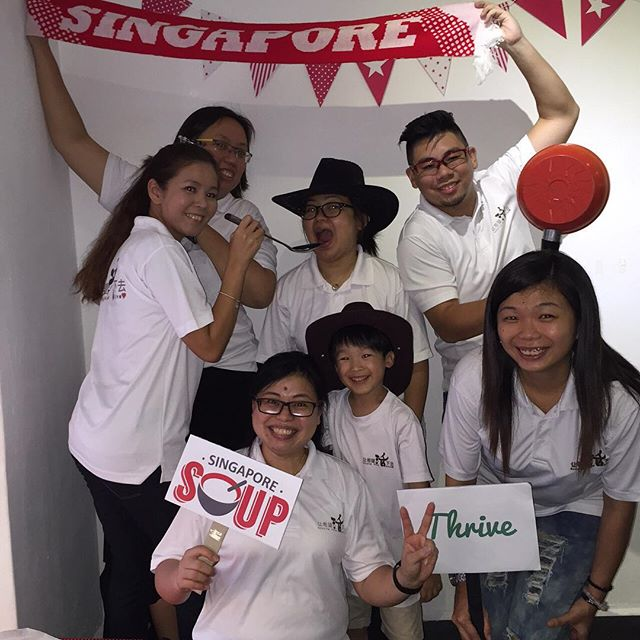Fun shot (Team Keeping Hope Alive) #SGSOUP #photoboothmoment