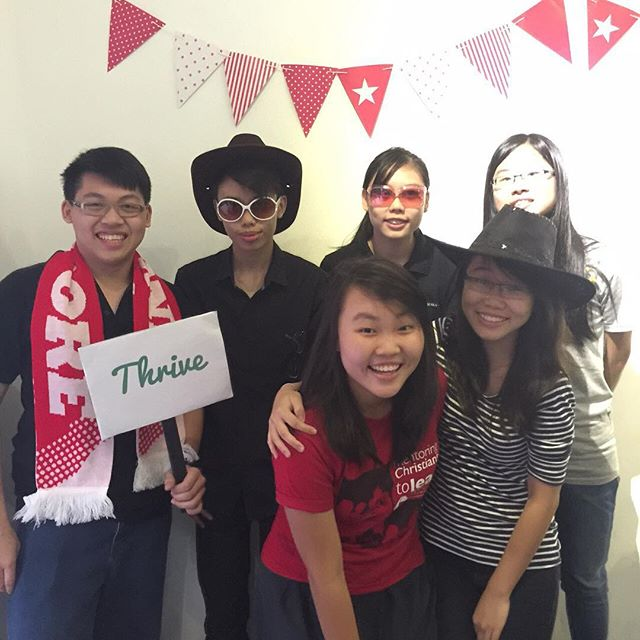 Team Youth In Action! #SGSOUP #photoboothmoment Photo credits: @doyourhomeworkwithafork