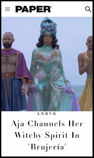 Paper Magazine | Aja