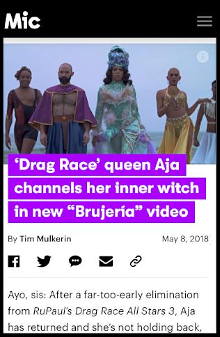 Mic Magazine | Aja
