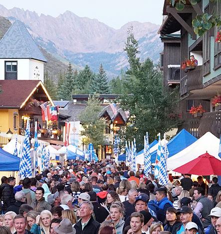 Photo Courtesy of  ©Vail  Oktoberfest