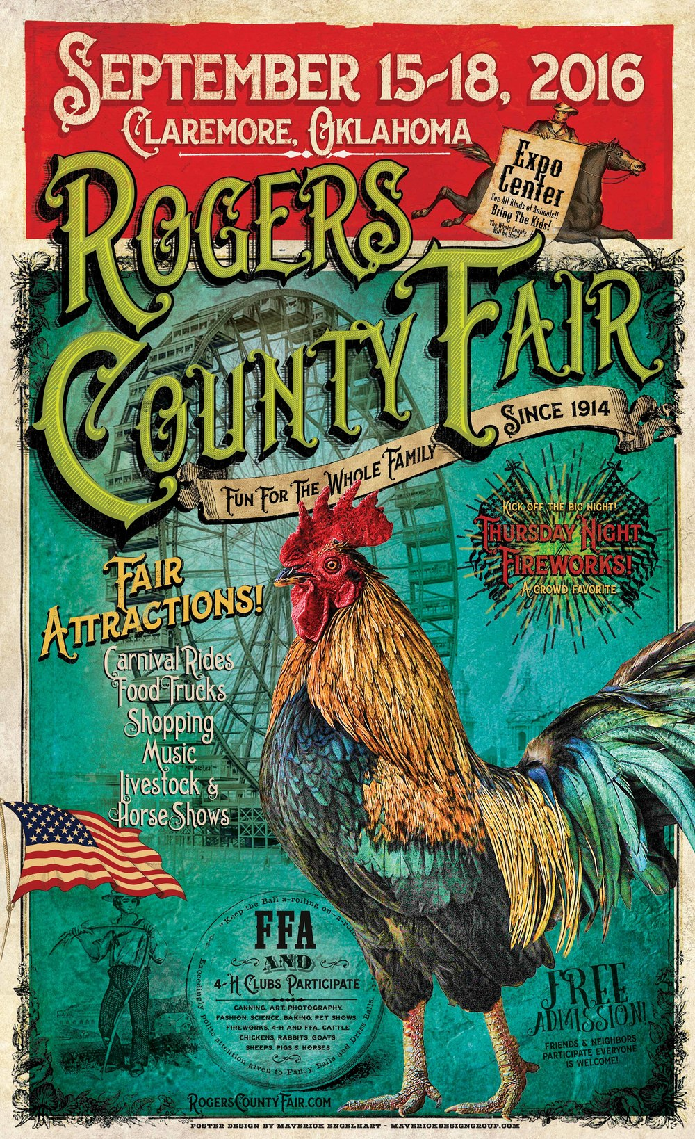 Roger's County Fair Poster
