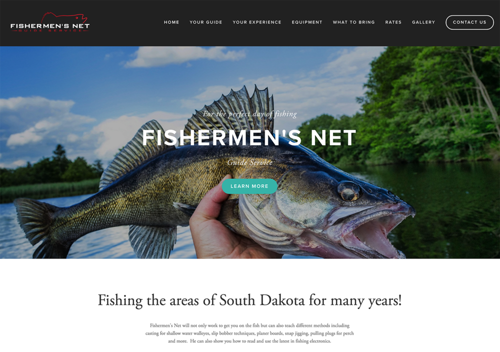 Fishermen's Net Website